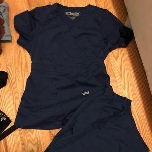 Greys anatomy scrubs small